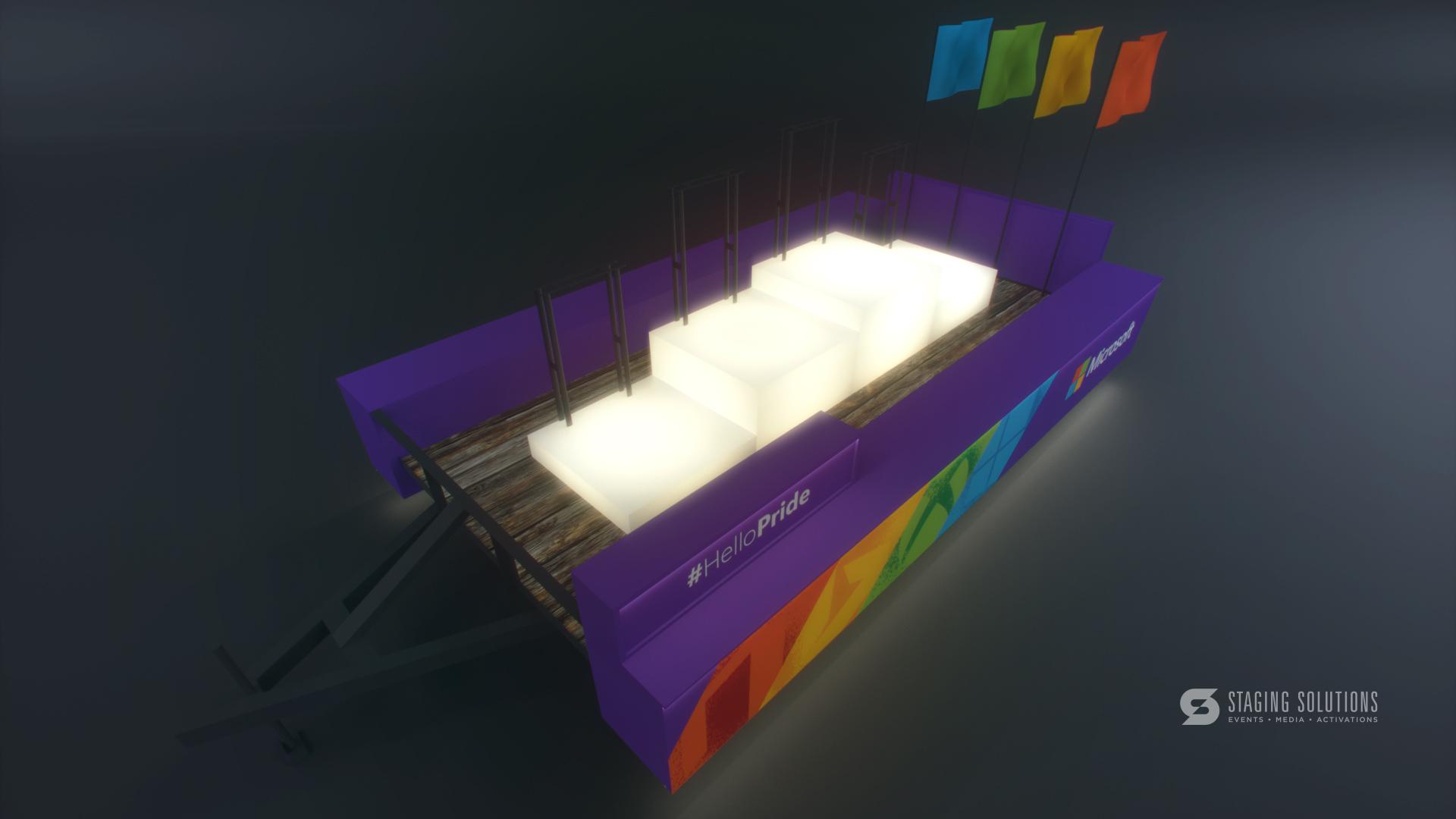 pride houston float concept