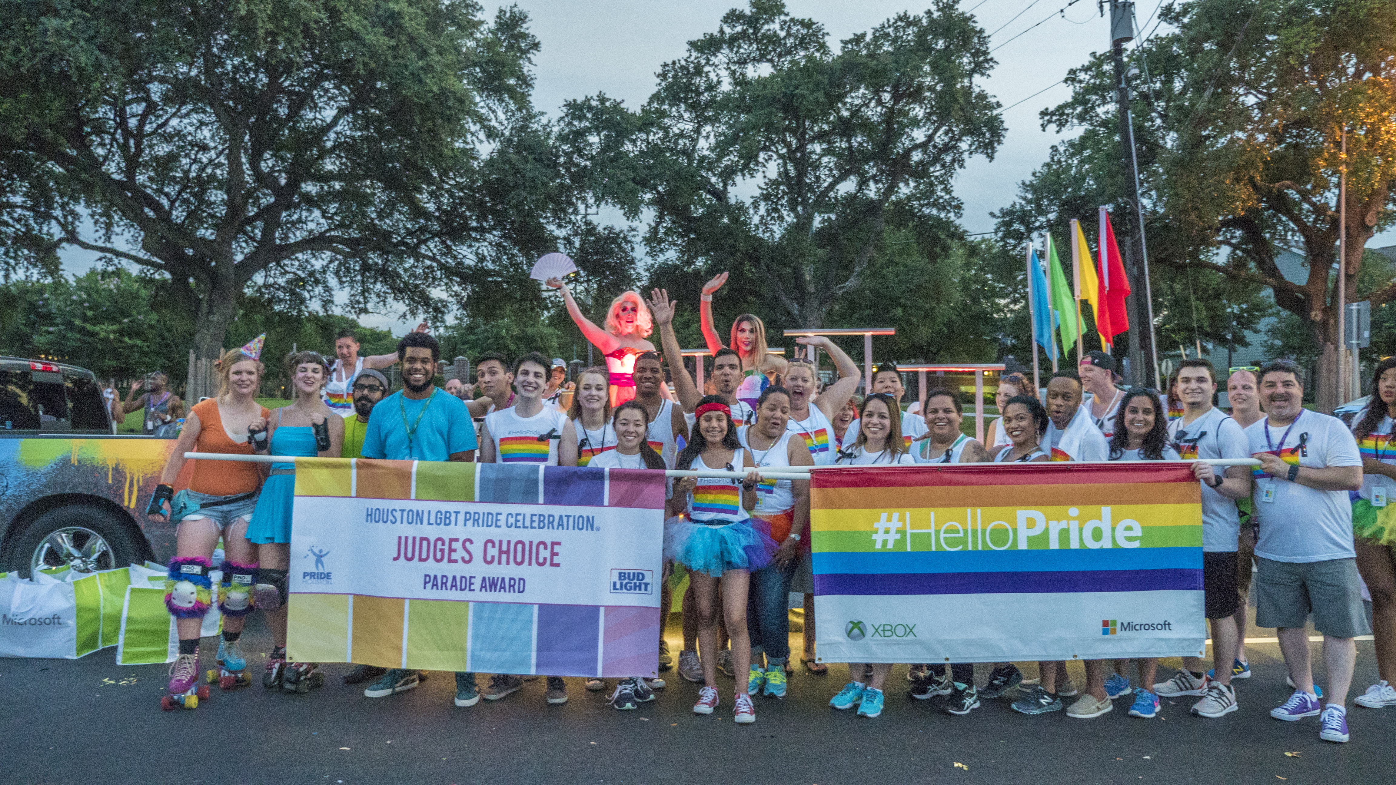 pride houston staging solutions